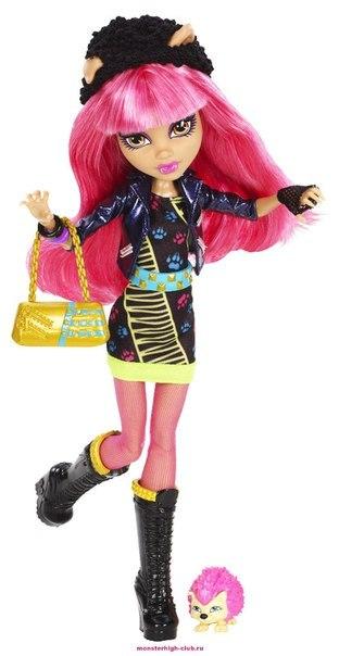 кукла барби монстр хай