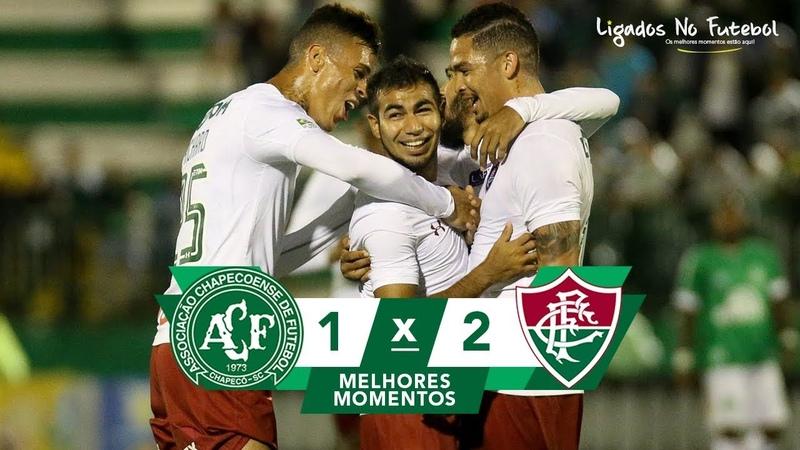Chapecoense 1 x 2 Fluminense - Melhores Momentos (HD 60fps) Brasileirão 24/09