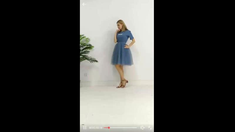 Фатиновая юбка фотосессия в процессе 😊