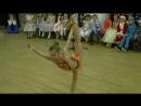 8. Ариадна Лютикова - гимнастический танец.