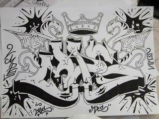 Граффити На бумаге (Скетч) | ВКонтакте