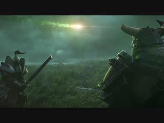 Вступительный ролик Warcraft III: Reforged