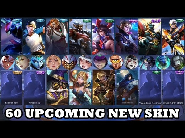 60 Upcoming New Skin   Mobile Legends