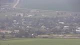 Гора Хрони.Вид на село Глазовка (Баксы).