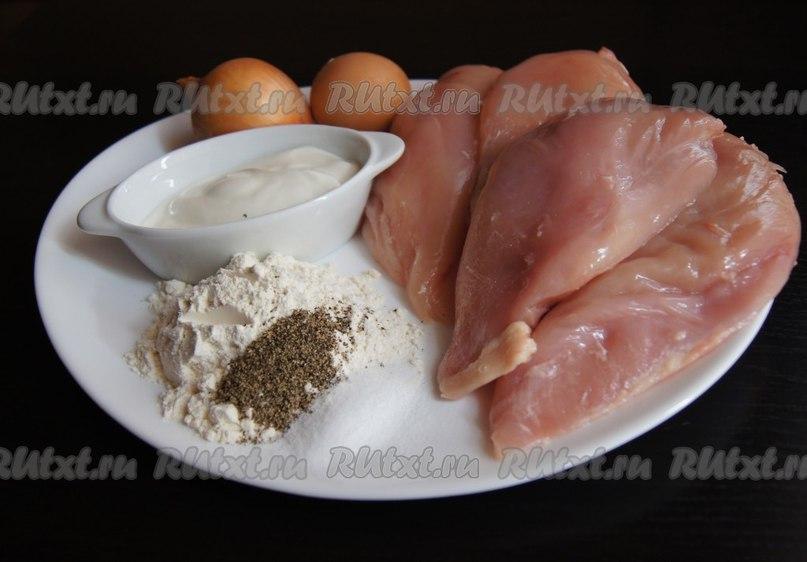 куриные котлеты с крахмалом рецепт с фото