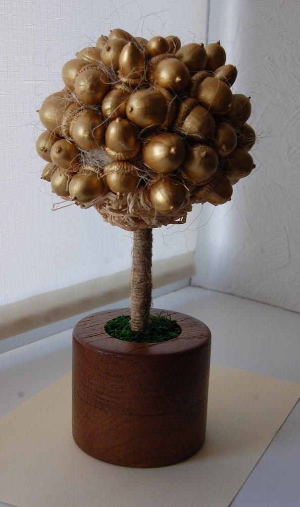 МК по изготовлению Желудевого Дерева Oxb40LAQisk