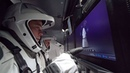 Commercial Crew Astronauts inside SpaceX's Crew Dragon (4K UHD)