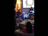 Сергей Манукян и Никки в ресторане Barry White