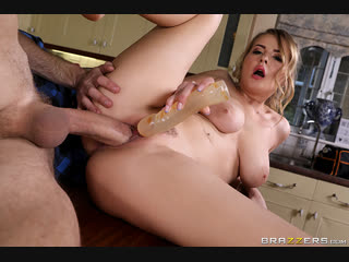 Brazzers Exxtra - Dildos In The Drain Pipe /  Candy Alexa & Danny D