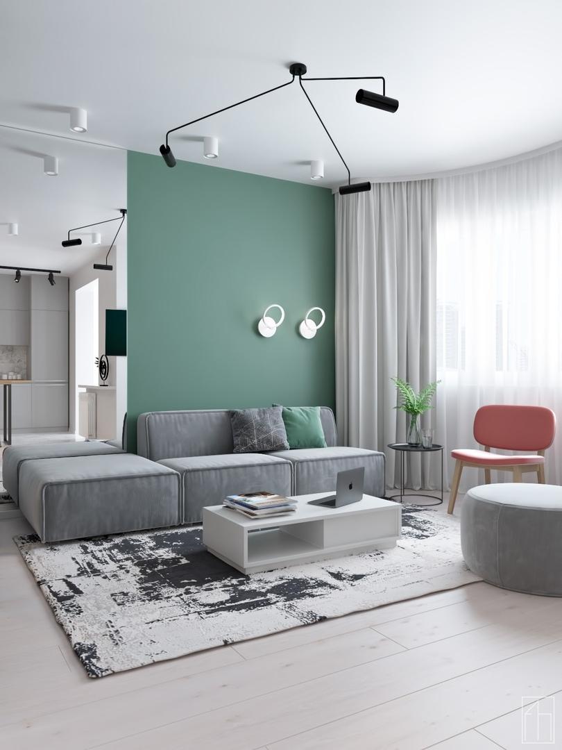 Квартира для молодой девушки в Москве площадью 37 кв.