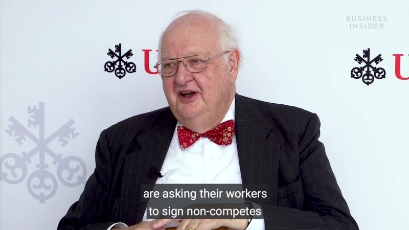 Non Competes Are Keeping Wages Down For All Workers