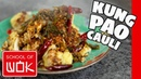 Crispy Vegan Kung Pao Cauliflower Recipe