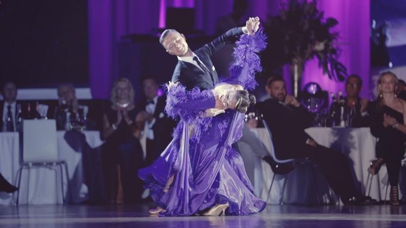 Sergiu Rusu - Dorota Rusu   2018 PODF - Night Of Nine, Prague   Showcase Slow Foxtrot