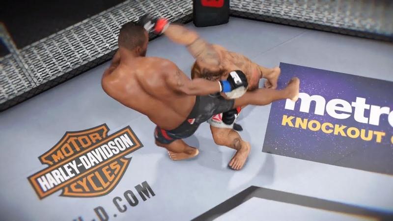 MARK HUNT vs. DANIEL CORMIER EA SPORTS UFC 3 CPU vs. CPU GAME PS4