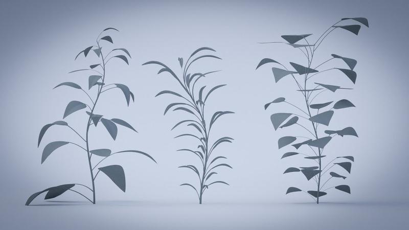 Blender 2 8 création d'une plante modulable avec les modifiers