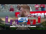 NCAAF 2018 Week 14 East Carolina Pirates - NC State Wolfpack 1H EN