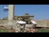 Сирия: подбитие танка Т-72 из ПТУР