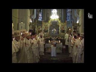 Перша річниця смерті митрополита Євсевія Політила. Божественна Літургія та заупокійна панахида