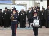 Парад-дефиле барабанщиков Шахтинского казачьего кадетского корпуса
