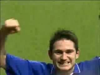 Frank Lampard first league goal for Chelsea