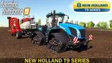 Farming Simulator 19 NEW HOLLAND T9 SERIES TRACTOR