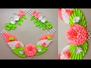 DIY. Simple Home Decor. Wall, Door Decoration. Hanging Flower. Paper Craft Ideas 30