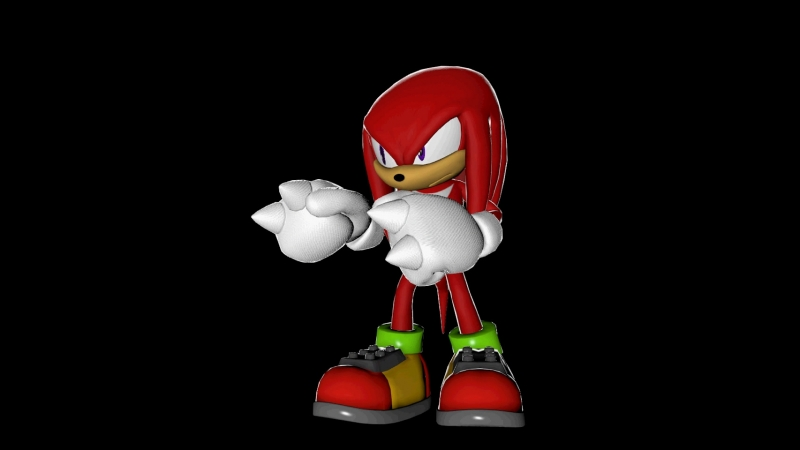 Knuckles Fight Pose