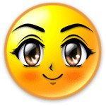 Солнце, солнышко Большеглазое солнце смайлики, картинки, фото, рисунки, gif