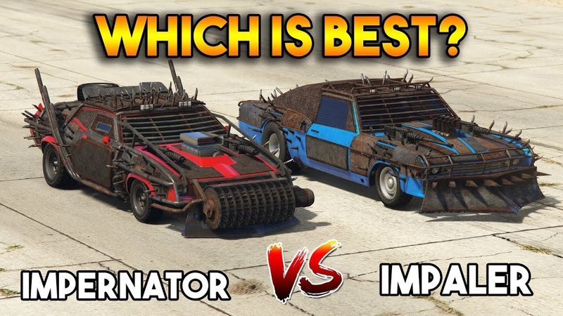 GTA 5 ONLINE IMPERATOR VS IMPALER (WHICH IS BEST)