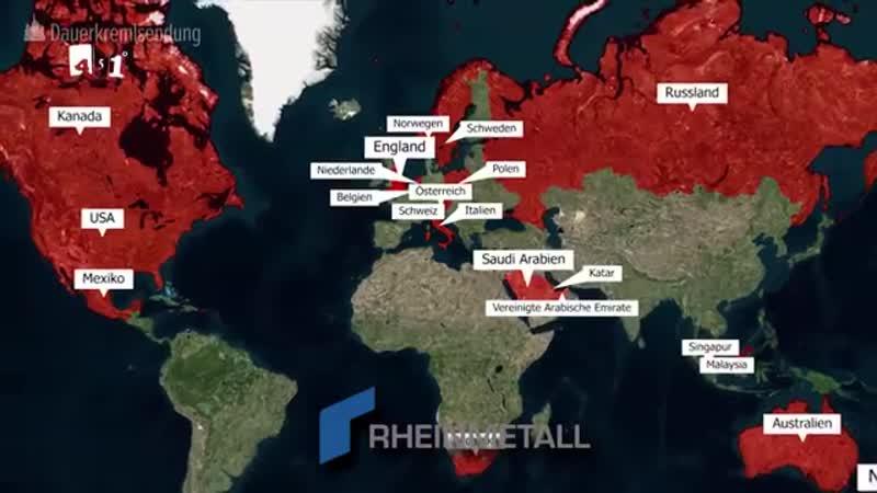 Munition, Panzer, U-Boote, Artilleriesysteme – Deutschland ist im Kriegsgeschäft ganz vorne mit dabei. Nach dem brutalen Mord an
