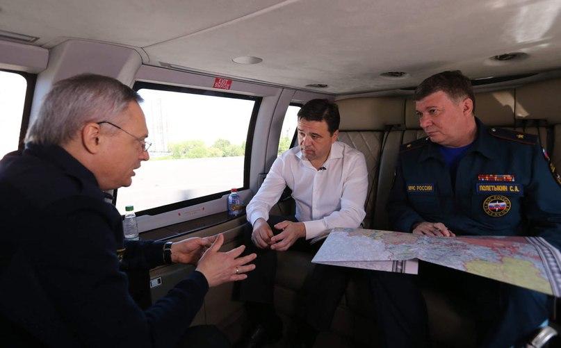 Вместе с МЧС провели проверку готовности к пожароопасному сезону и облет самых сложных территори