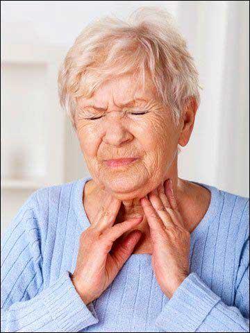 Дисфагия: затруднение глотания
