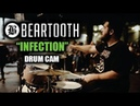 Beartooth Connor Denis Infection Drum Cam LIVE *NEW SONG*
