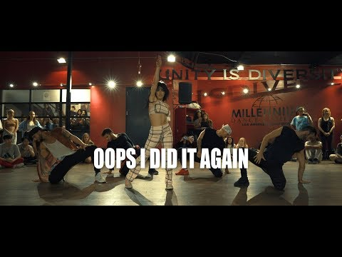 Britney Spears Oops I Did It Again Choreography by Jojo Gomez Dance BritneySpears