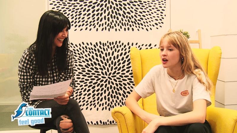 Angèle parle VDM avec Maria