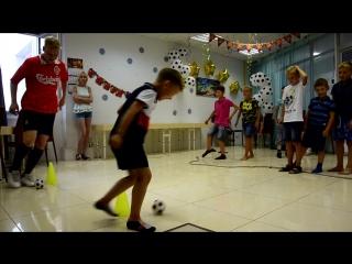 Крутая футбольная вечеринка для Влада!!!