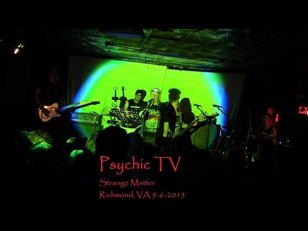 Psychic TV Jump Into The Fire Live at Strange Matter