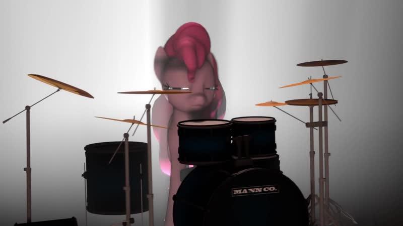 [SFM Short] Pinkie Plays the Drums