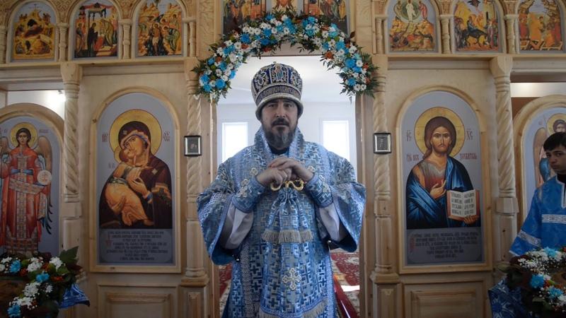 Слово митрополита Савватия в день Сретение Владимирской иконы Пресвятой Богородицы с. Сотниково