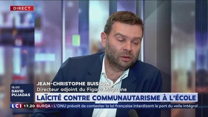 Jean-Christophe Buisson : L'Islamisme est une forme de communisme, il crée une contre-société à l'intérieur de la société FR