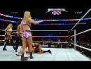 Emma Eva Marie Natalya The Funkadactyls vs Aksana Layla Alicia Fox Summer