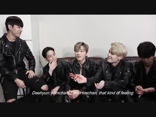 21.12.18 [interview] Intimate Chat with B.A.P