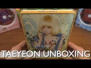 Unboxing - I GOT A BOY (SNSD) -TaeYeon Version-