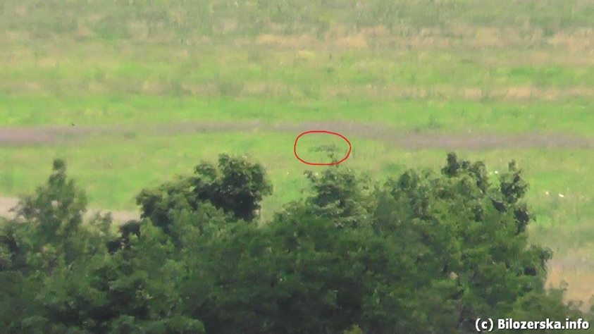 Боевики из крупнокалиберной артиллерии обстреляли Бахчевик и Пески, - пресс-центр АТО - Цензор.НЕТ 1601