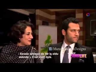Murat Yıldırım ve Meltem Cumbul (İstanbul Moda Haftası)