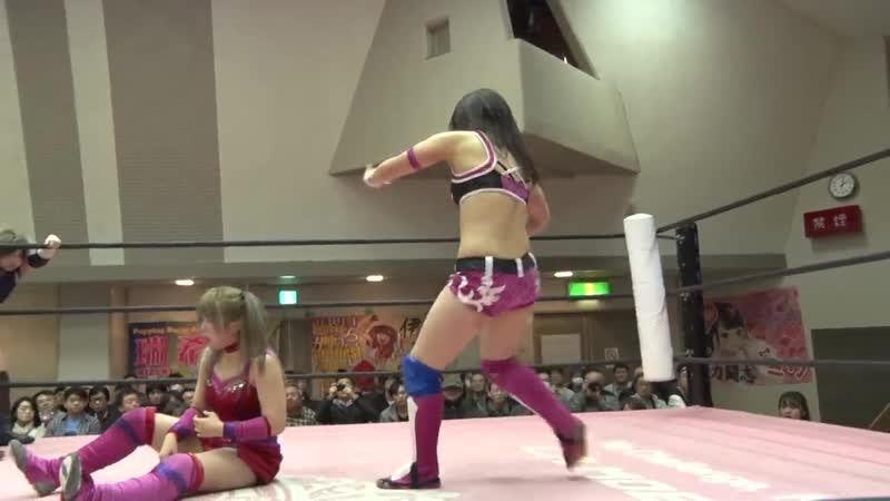 BAKURETSU Sisters (Nodoka Tenma Yuki Aino) vs. Miyu Yamashita Reika Saiki