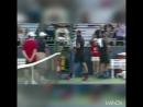 Французский теннисист Бенуа Пэр устроил истерику на корте