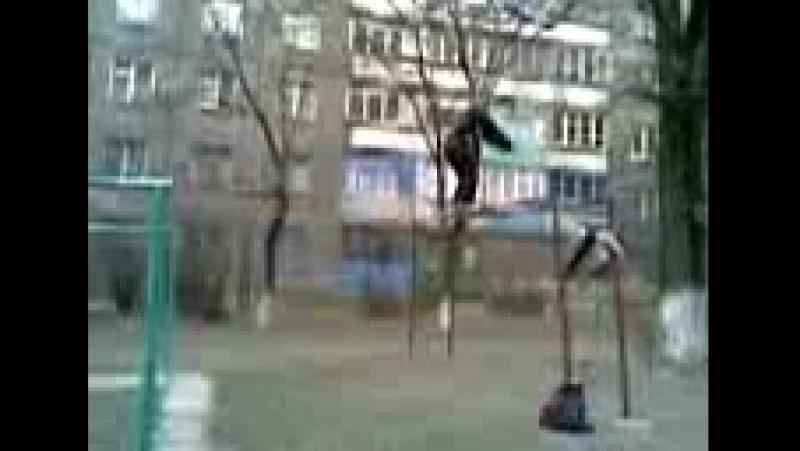 Видео parkour Лёша Каракаш — Видео@Mail,ru