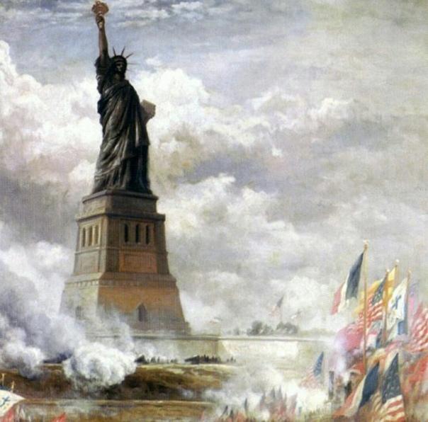 Статуя свободы – богиня тьмы.