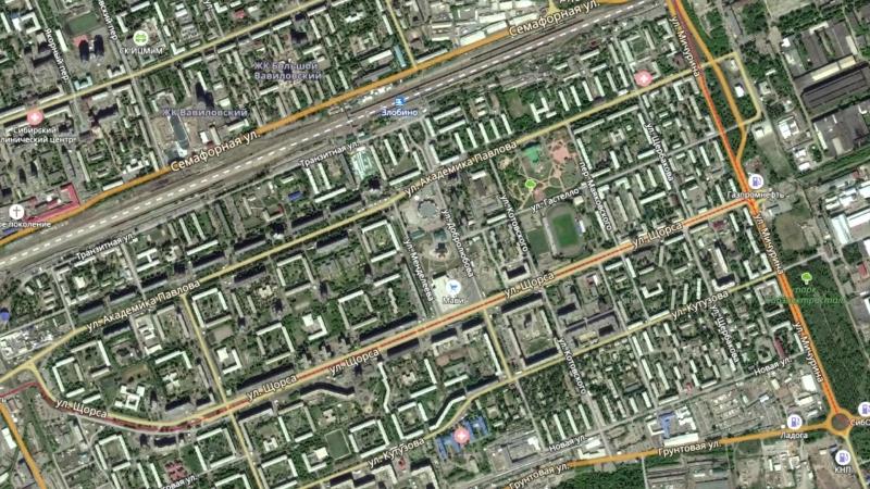 ДорогоЯмы - Проезд между улиц Менделеева и Добролюбова
